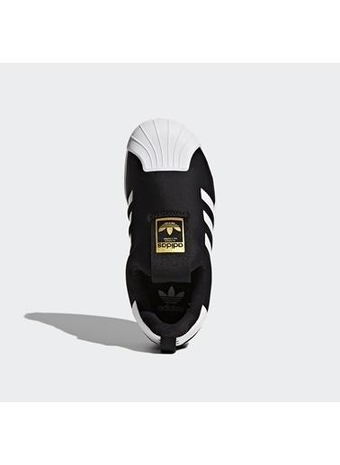 adidas Unisex Çocuk Superstar 360 Spor Ayakkabı S32130 Siyah
